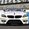 BMW's Z4s Post at Lime Rock Le Mans Race