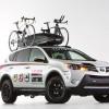 Toyota LifeTime Fitness RAV4 Features a Hot Water Shower