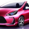 Toyota Aqua Air Concept Debuts in Tokyo, Looks Like Barbie Car