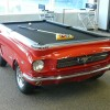 A Pony Car in Your Living Room – The 1965 Ford Mustang Pool Table