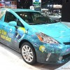 Shedd Aquarium Prius V at the 2014 Chicago Auto Show