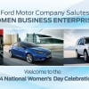 Ford Salutes Women Business Enterprise Companies For NWHM