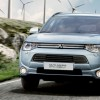 Redesigned 2016 Mitsubishi Outlander PHEV Prepares for European Debut