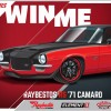 Raybestos Garage's 1971 Camaro Sweepstakes Open Now