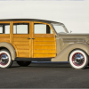 Don't Sleep on 1936 Ford Deluxe Station Wagon at Pebble Beach