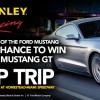 Win a 2015 Mustang GT in STANLEY BLACK & DECKER Ford Mustang Sweepstakes