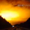 Mysterious Orange Light Seen in Russian Dashcam Video