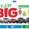 Enter Ford Dream Big Sweepstakes, Win $30K Toward a New Ride