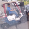 [Watch] Jerks Move Ford Falcon With Mitsubishi Forklift