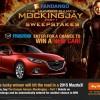 Enter Fandango's The Hunger Games: Mockingjay Sweepstakes, Win a 2015 Mazda3