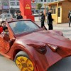 Carpenter Creates Supercar Made Out of Wood