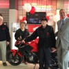 Honda Presents 84-Year Old Biker with his 55th Honda Motorcycle