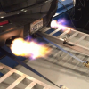 Watch This Mitsubishi Lancer EVO Shoot Flames on the Dyno