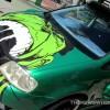 Hulk Mobile VW Touran from <i>Fast &#038; Furious: Tokyo Drift</i> at Universal Studios