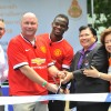 Chevrolet and Louis Saha Open New Football Pitch in Bangkok