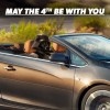 Here's Darth Vader in a Cascada, Because Social Marketing