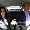 Jerry Seinfeld and Julia Louis-Dreyfus Drive James Bond's Aston Martin DB5