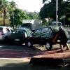 [VIDEO] Brazilian Hulk Lifts Car Out of Bike Lane, Bikes Away Calmly