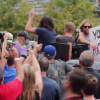 Foo Fighters Rick Roll Westboro Baptist Church from Pickup Truck