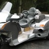 Bizarre Ford Focus-Honda Goldwing Trike Sells for $9,100
