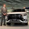 Mayor of London Unveils Redesigned Mitsubishi Outlander in Tokyo