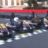[VIDEO] Danica Patrick, Justin Bieber, and Ellen Degeneres Go-Kart Race an 11-Year-Old Girl