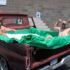 YouTube Video Shows Classic Truck Being Transformed into 'Hillbilly Hot Tub'