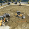 Building a Monster Jam Track Requires 7,500 Tons of Dirt and Just as Much Heart