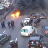 Protesting Parisian Taxi Drivers Use Fire to Once Again Protest Uber