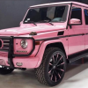 Los Angeles Actress Trisha Paytas' Pink G-Wagen Will Leave You Speechless