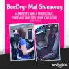 Enter Our Giveaway: Portable, Trendy BeeDry Mat to Keep Car Upholstery Clean
