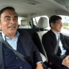 Carlos Ghosn Sees The Future at the New York Auto Show