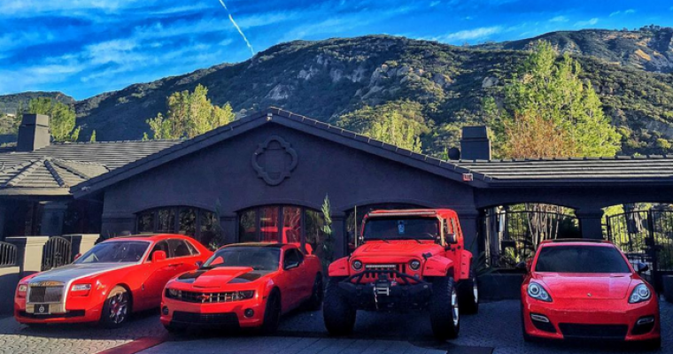 California Rapper Games Car Collection Back To Normal After Vandal