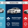 Infographic: Honda Accord vs Nissan Altima vs Toyota Camry