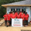 Nissan Pitches In To Help Habitat For Humanity