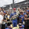 Honda, Rookie Racer Alexander Rossi Win 100th Indy 500