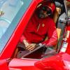 Atlanta Rap Star Jeezy Shows Off New Red Ferrari