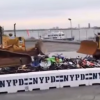[VIDEO] NYPD Uses Bulldozers to Destroy Illegal Street Bikes