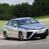 Chrome Toyota Mirai Makes Motorsport Debut at Gurston Speed Hill Climb