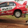 Lucky Dog Narrowly Avoids Death by Mitsubishi Lancer