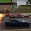 Jay Leno Races C6 Corvette, Gets Blown Away By Jet Dragster