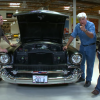 Jay Leno Spotlights 57 Chevy Built by Father and Son Team of US Veterans
