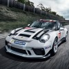 Porsche Rewards Paris Motor Show Visitors with a Glimpse of its New 911 GT3 Cup Racecar