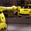 [VIDEO] Watch This Payload Robot Play with a Corvette like a Bath Toy
