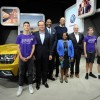 Volkswagen Contributes $30,000 to LA Lakers Charity