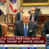 "President Trump Promises Auto CEOs He Will Reduce Taxes and Regulations ""Bigly"""
