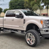 NBA Hall of Famer Shaquille O'Neal Drives a Lifted Ford F-250 Pickup