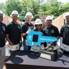 5 Heisman Winners Build Habitat Home
