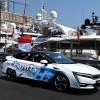 Prince Albert of Monaco Drives Honda Clarity FCV at Formula 1 Grand Prix de Monaco 2017