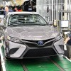 2018 Toyota Camry Rolls Off the Production Line in Kentucky